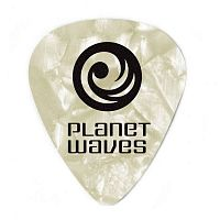 PLANET WAVES 1CWP6-25 White Pearl Celluloid Heavy